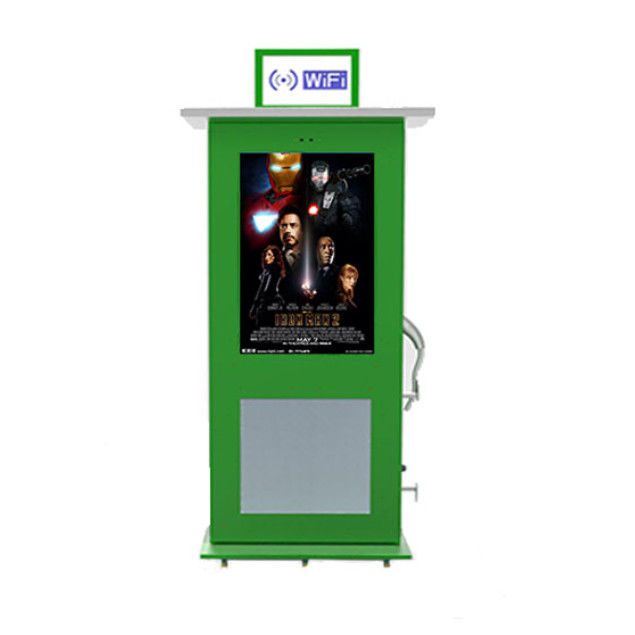 Dust Proof Digital Signage Charging Station FCC/ROHS/CE Certificate
